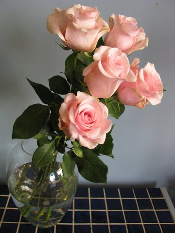 Titanic Rose in Vase