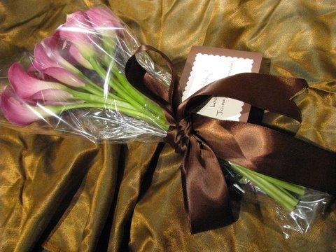 Pink Calla Bouquet