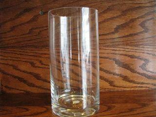 Cylinder Vase on wood