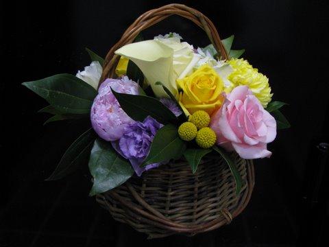 Basket of Flowers 95 yrs