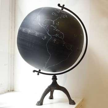 Chalkboard Globe - This Next
