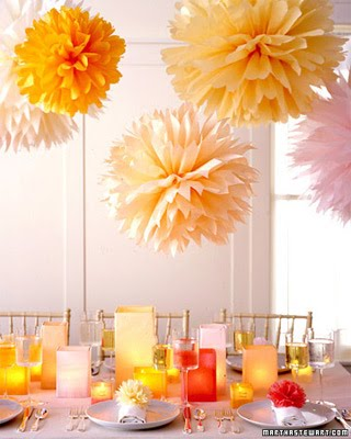 Tissue paper flowers - martha_stewart_weddings