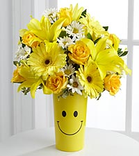 FTD Yellow Arrangement