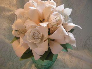 Paper-flower-bouquet- St. Jude Creations