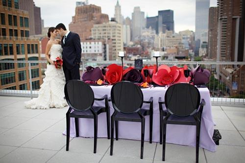 Paper Flower - Lg Flower Wedding -Scissors