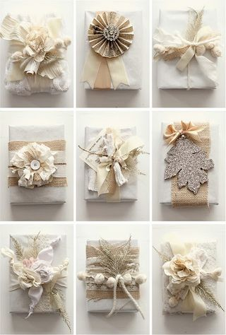 Gift Wrap Beige and White-Kiki Nakita Lifestyle