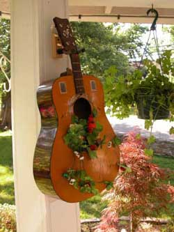 Garden in Guitar - Front Porch Ideas and More