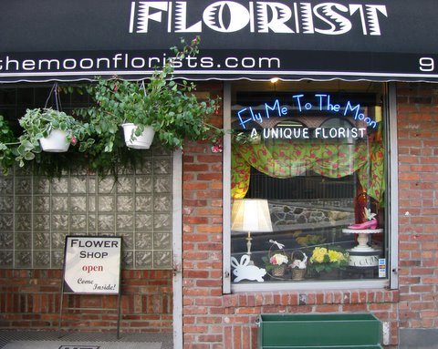 Flower Shop Say Time Exterior