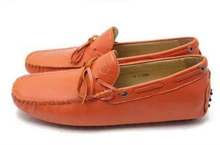 Orange Loafers