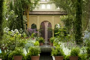 Spanish PAradise Gardens of Alhambra