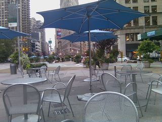 Madison Square Park Pedestrian Mall