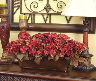 Fall nesting -Silky flower store