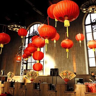 Orange lantern Wedding - Instyle Empire Entertainment