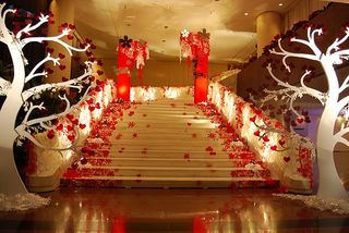 Top 5 Sept 2011 Event Decor White Tree - - Wedding party Idea