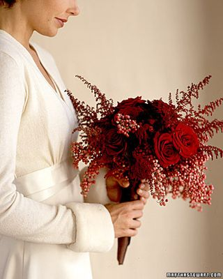 Top 5 Bridal Bouquets Red Rose -0MS Weddings