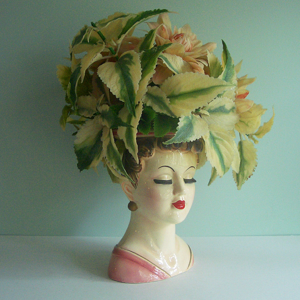 Lady head vases first come flowers head vases plant etsy reviewsmspy