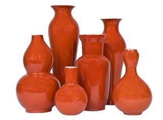 Orange Vases A