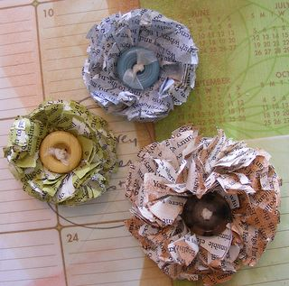 New Paper flowers 2 - Made By Nicole