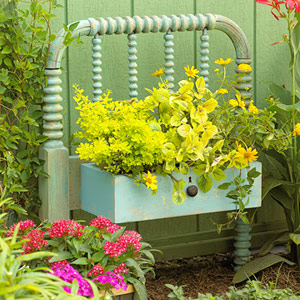 Garden in Headboard - BHG