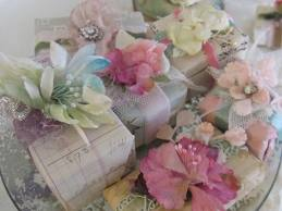 Gift Wrapping Millinery flowers 2 - Just A Girl