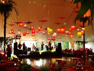 Umbrella reception