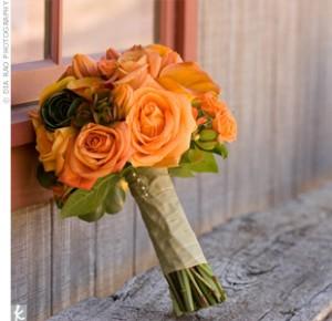 Orange Bouquets 3