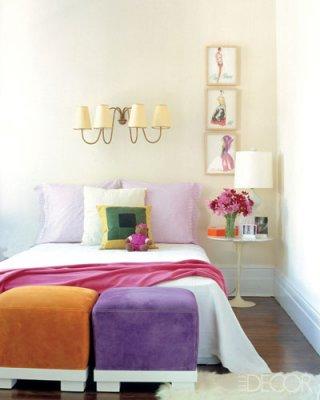 Colorful Bedrm= Elle Decor FF