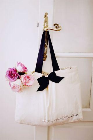 Roses in bag