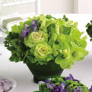 Green flowers A