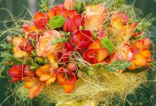 Orange Bouquet 1