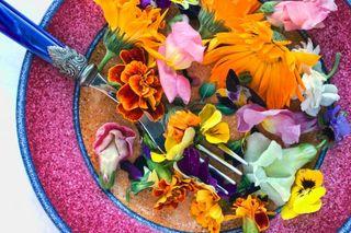Edible flowers A