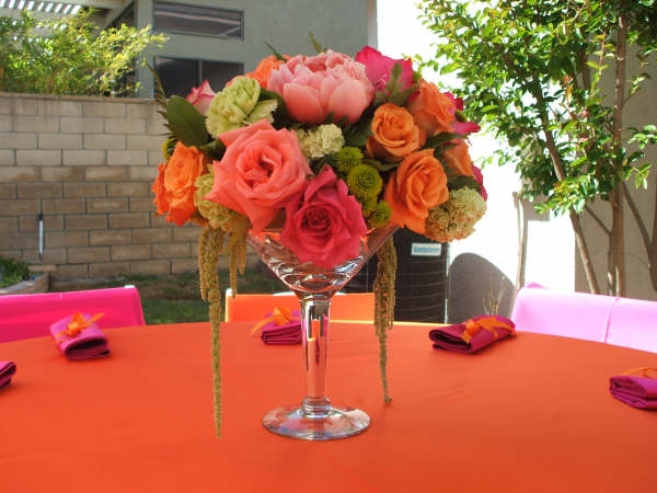 How to make stem glass flower arrangements first come