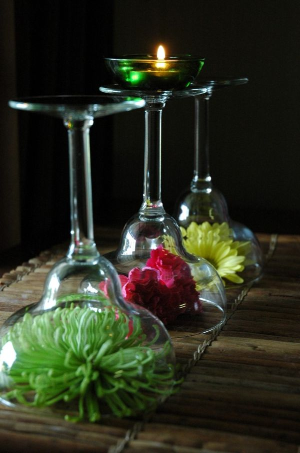 How To Make Stem Glass Flower Arrangements - First Come ...