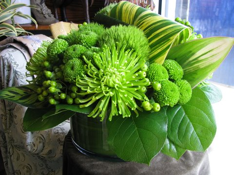 green flower arrangements for st patrick s day first come flowers