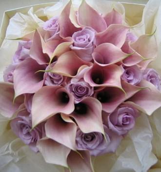 Purple Bouquet I