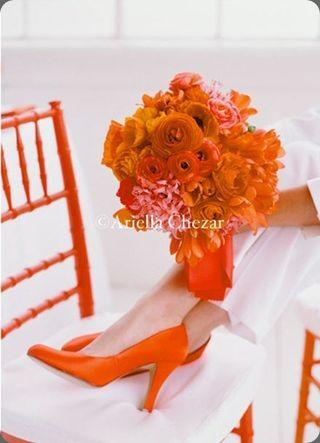Orange Bouquet 4