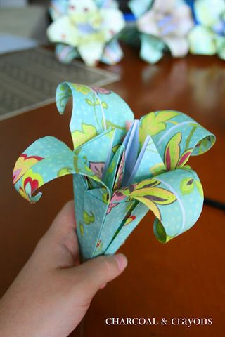 Paper Flower Lily A