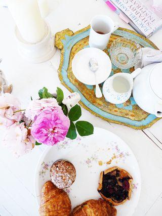 Tea Tray A