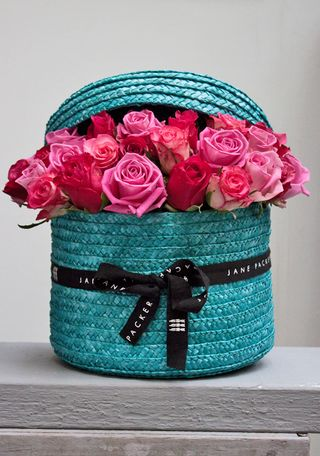 Turquoise and pink FF