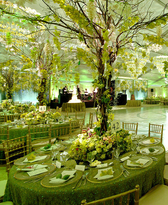Green Tablescape PB 2