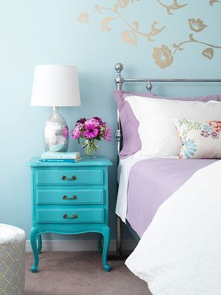 Turquoise and pink CC