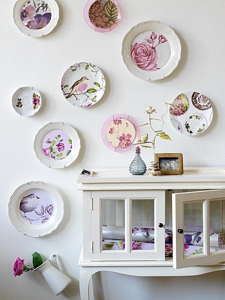 Floral plates