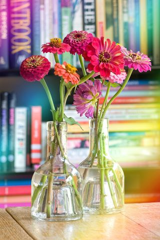 Books and Flowers A