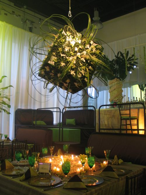 Green Tablescape CC Tatawan
