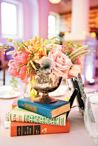 Books and Flowers ZAP
