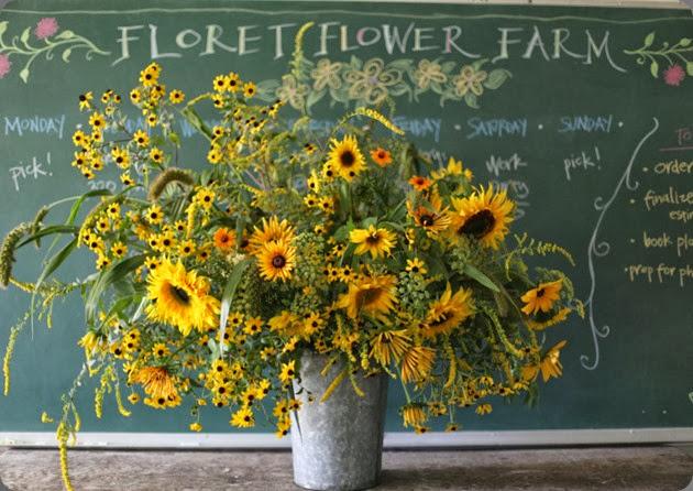 Sunflower Arrangement - Floret Farm
