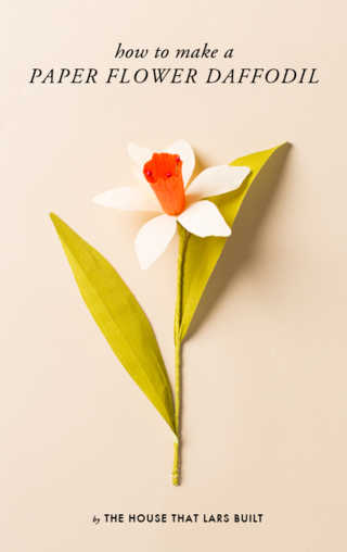 HOW-TO-MAKE-A-PAPER-DAFFODIL