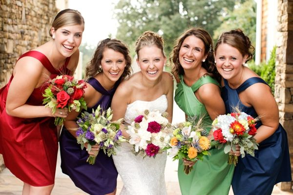 Mismatched Bouquets C - Anna K. Photography