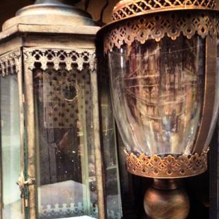 Jamali Rustic lanterns