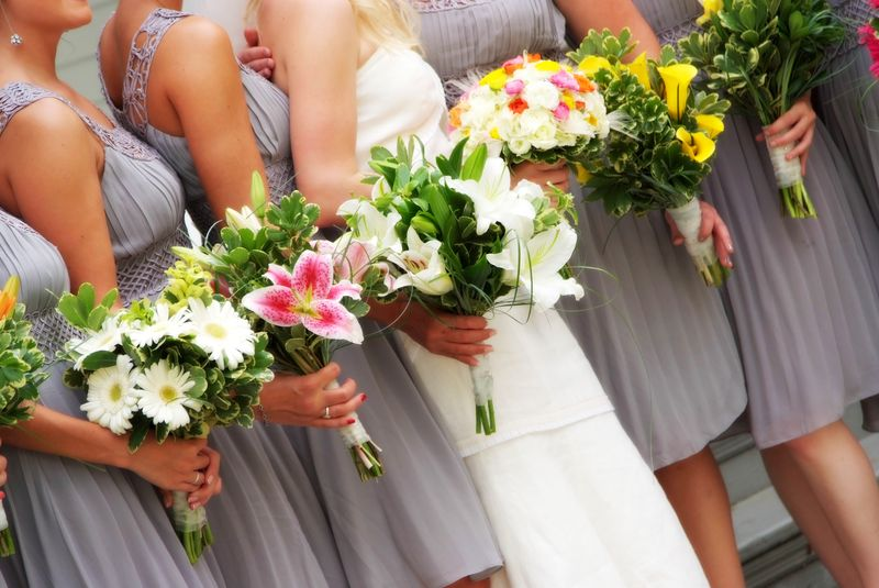 Mismatched Bouquets H - Mark & Jennifer Garber